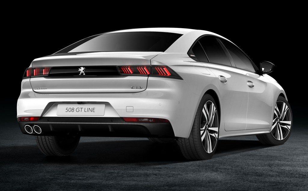 Peugeot 508 (face arrière)
