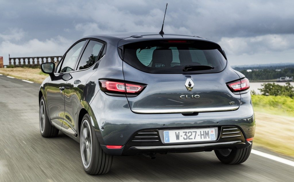 Renault Clio (face arrière)