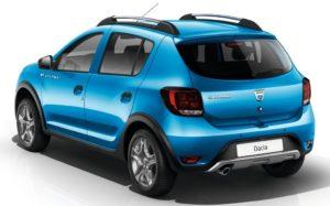 Dacia Sandero Stepway - Vue arrière