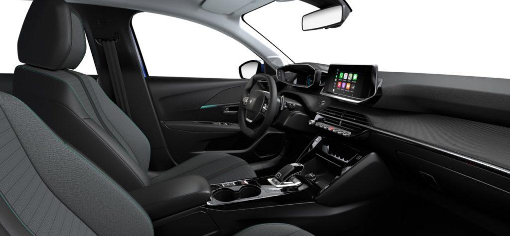 Intérieur de la Peugeot 208 Allure