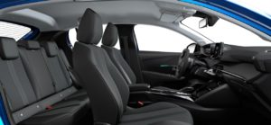 Intérieur de la Peugeot 208 Allure - 3/3