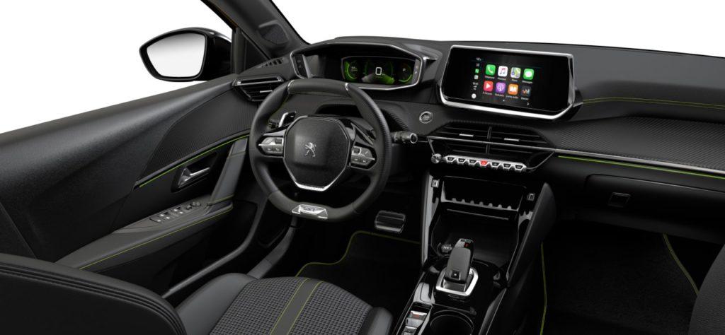 Intérieur de la Peugeot 208 GT Line - 2/3