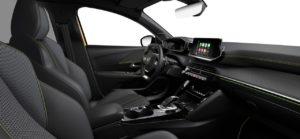 Intérieur de la Peugeot 208 GT Line