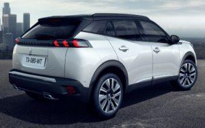 Nouveau Peugeot 2008 - Vue arrière