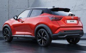 Nouveau Nissan Juke - Vue arrière