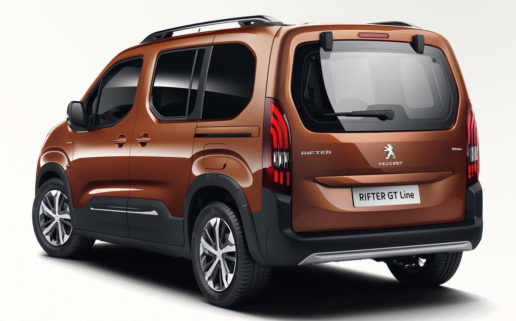 Peugeot Rifter - Vue arrière