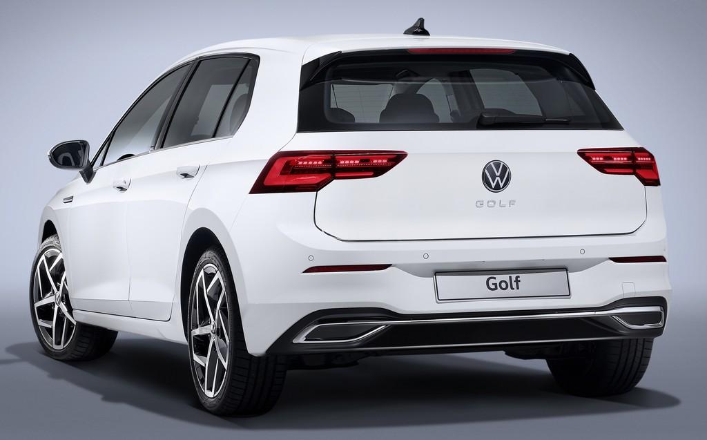 Nouvelle Volkswagen Golf - Vue arrière