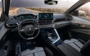 Intérieur du nouveau Peugeot 3008 (2020)